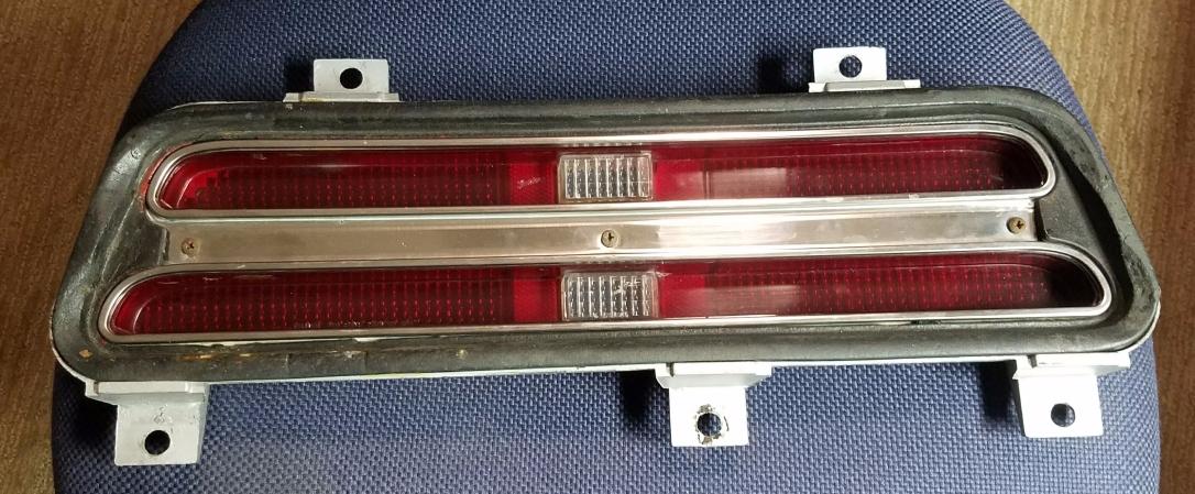 1969 Firebird Taillight Exterior
